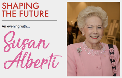 The Trailblazing Story of Susan Alberti: Shaping the Future with Susan Alberti AC