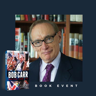 Run For Your Life: Bob Carr Literary Forum