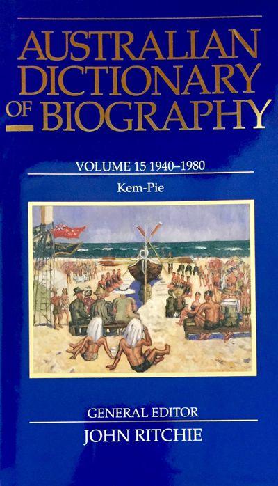 Australian Dictionary of Biography V15