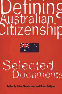 Defining Australian Citizenship