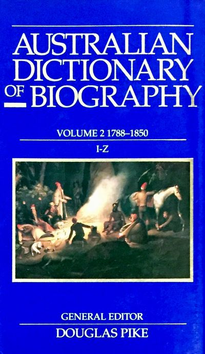 Australian Dictionary of Biography V2