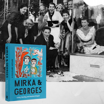 Mirka & Georges: Kendrah Morgan and Lesley Harding in conversation with Tim Byrne at Avenue Bookstore