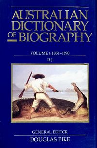 Australian Dictionary of Biography V4