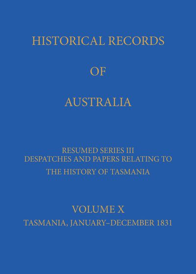 Historical Records of Australia