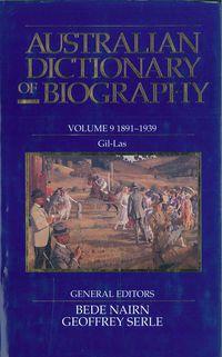 Australian Dictionary of Biography V9