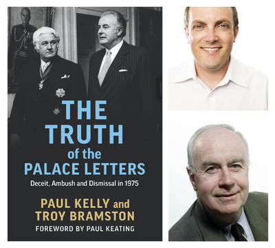 ONLINE EVENT: Paul Kelly and Troy Bramston in conversation with Tory Shepherd