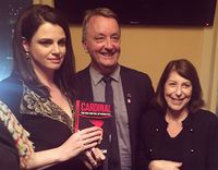 Martin Foley launches Louise Milligan's book Cardinal