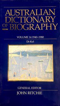 Australian Dictionary of Biography V14