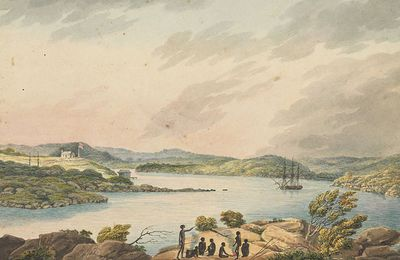 Black skies and raging seas: how the First Fleet got a first taste of Australia's unforgiving climate