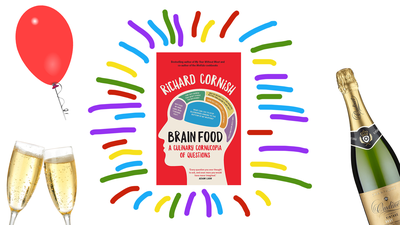 Join us for the Facebook live launch of BRAIN FOOD