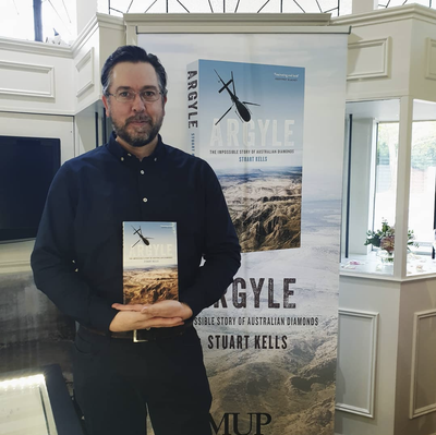Stuart Kells' Speech from the launch of ARGYLE: THE IMPOSSIBLE STORY OF AUSTRALIAN DIAMONDS