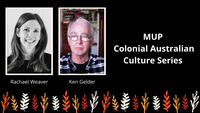 MUP Presents New Series on Colonial Australian Culture