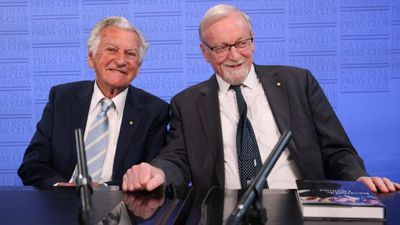 A reflective Gareth Evans, with a twist of vintage Bob Hawke