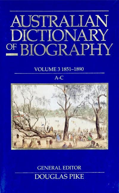 Australian Dictionary of Biography V3