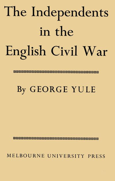 The Independents in the English Civil War