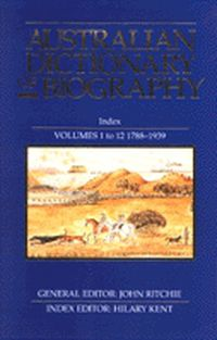 Australian Dictionary of Biography Index