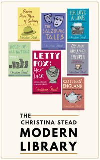 Christina Stead Modern Library Collection