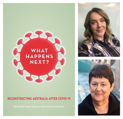 ONLINE EVENT: Janet McCalman and Emma Dawson - What Happens Next?