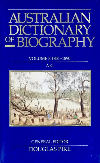 Australian Dictionary of Biography V3