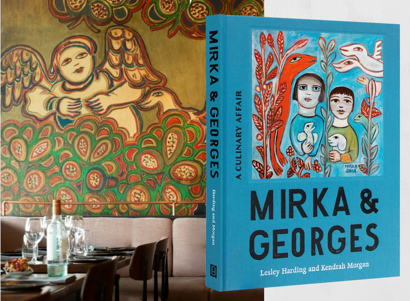 Mirka & Georges: Dinner at Tolarno's