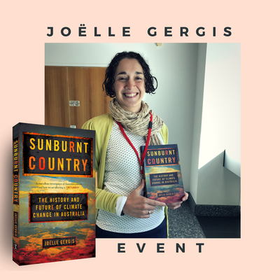 Sunburnt Country: Joëlle Gergis at State Library Victoria