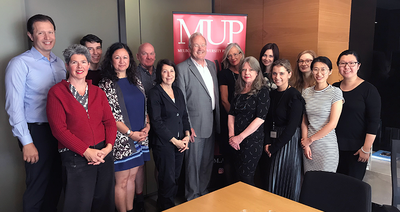 Team MUP farewells Emeritus Professor McPhee