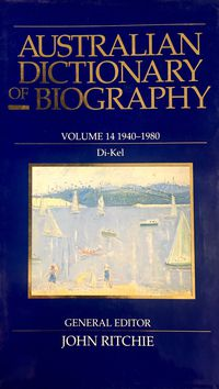 Australian Dictionary of Biography V14