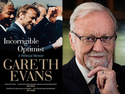 Live National Press Club launch of Gareth Evans's 'Incorrigible Optimist: A Political Memoir'