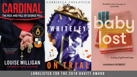 Cardinal, Whiteley on Trial and Baby Lost longlisted for the Davitt Awards 2018