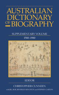 Australian Dictionary Of Biography V7