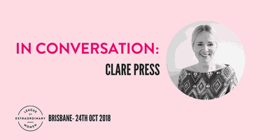 Rise & Resist: League of Extraordinary Women | In Conversation with Clare Press