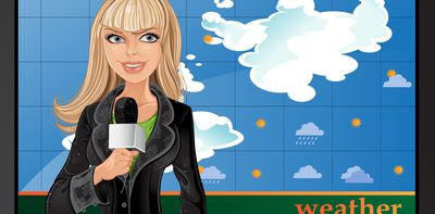 Does it matter if TV weather presenters aren't experts?