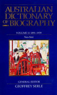 Australian Dictionary of Biography V11
