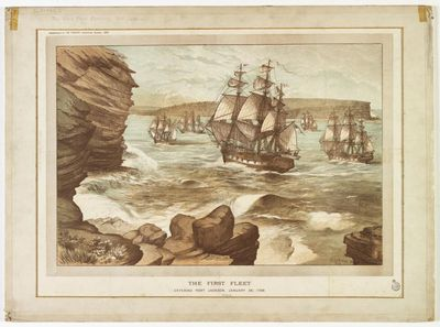 The First Fleet and Australia's unforgiving weather