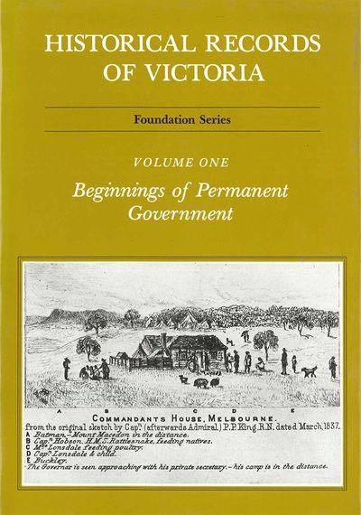 Historical Records Of Victoria V1